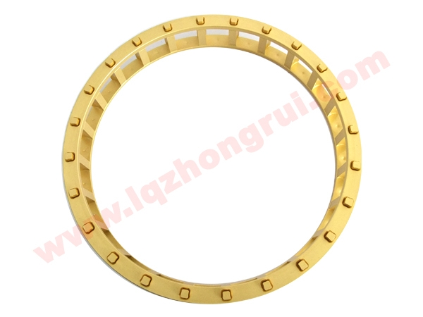 Cylindrical roller bearing retainer