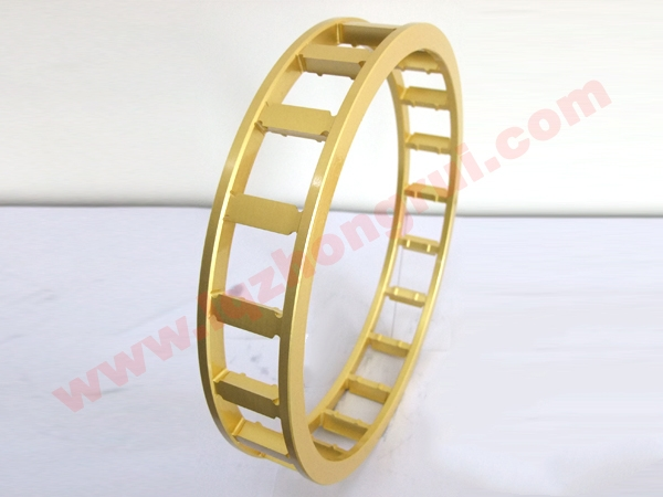 Cylindrical roller bearings closed cage